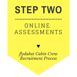 flydubai Cabin Crew Recruitment - Step by Step Process 2017 - Step 2 - Online Assessment