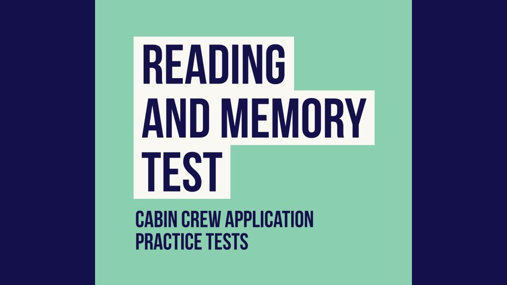 Reading and Memory Test