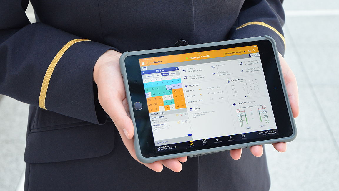 Lufthansa Goes iPad Crazy: 20,000 Cabin Crew Receive Tablet Devices in Major Digital Push