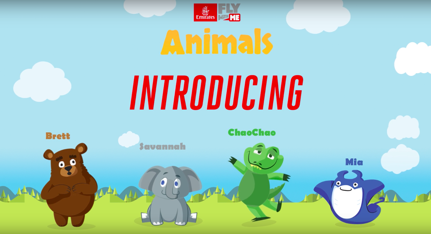 Meet the New Range of Emirates Kids Favourite 'Come Fly With Me' Animals: Now On board