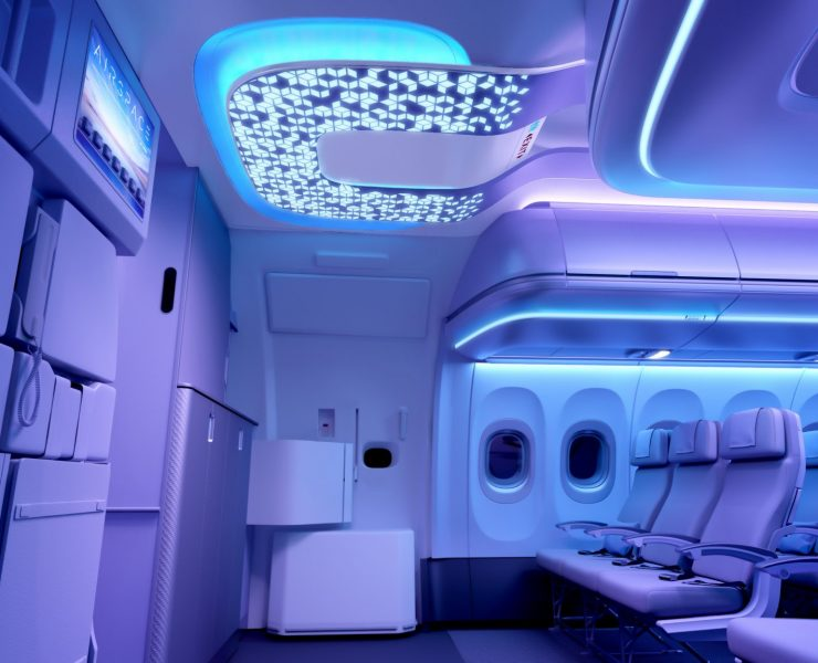 The Airbus Airspace Cabin Will Debut On jetBlue in 2020: Wins Top Award at APEX Awards