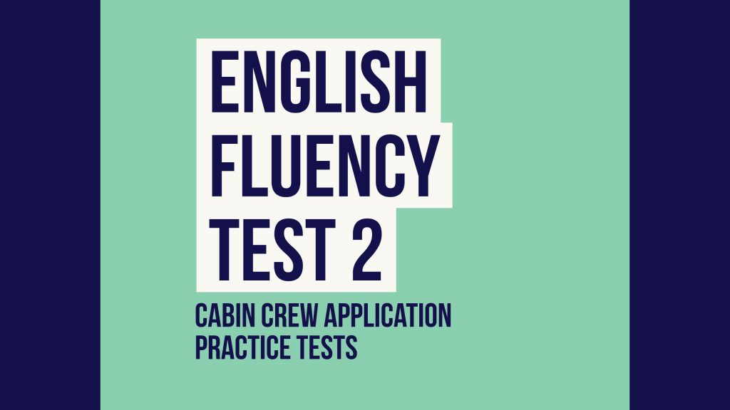 English Fluency Test 2