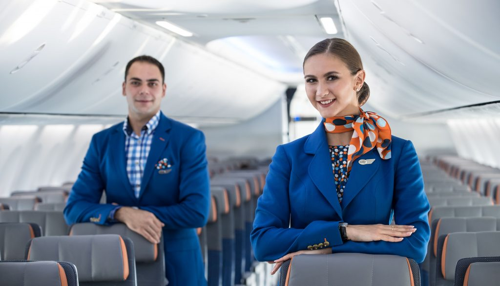 JPA Design were responsible for designing all the cabin elements on the new Boeing 737MAX aircraft. Photo Credit: flydubai