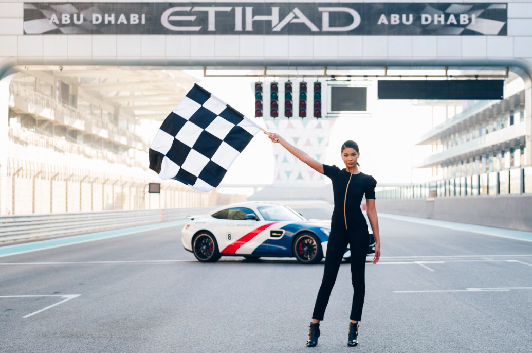 The Etihad Grid Girls Are Back in Town With a New Designer Uniform Ahead of the Abu Dhabi Grand Prix