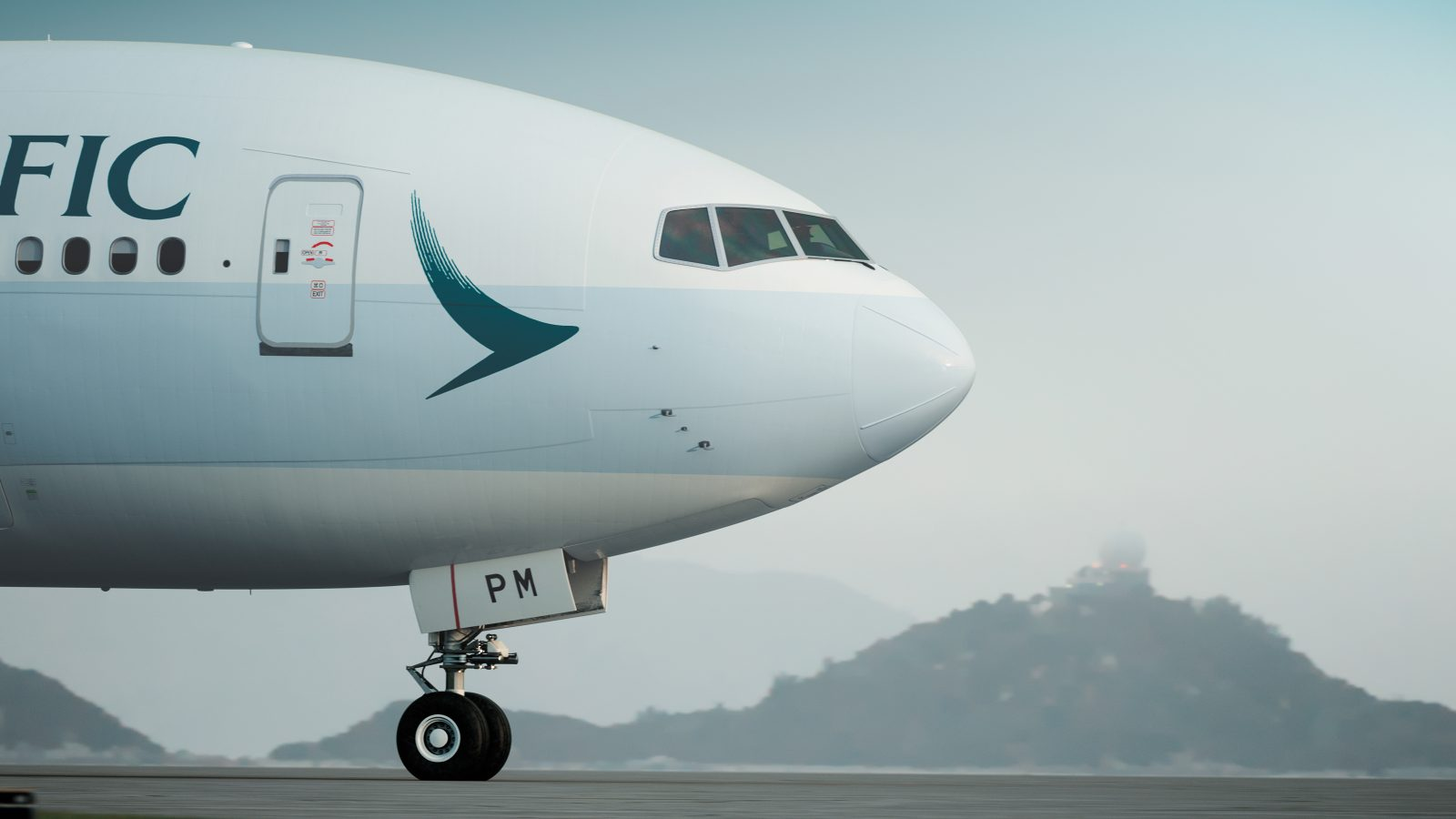 Despite a healthy passenger load factor of 84.7%, Cathay Pacific's passenger revenue fell 3.9% in the first six months of 2017. Photo Credit: Cathay Pacific