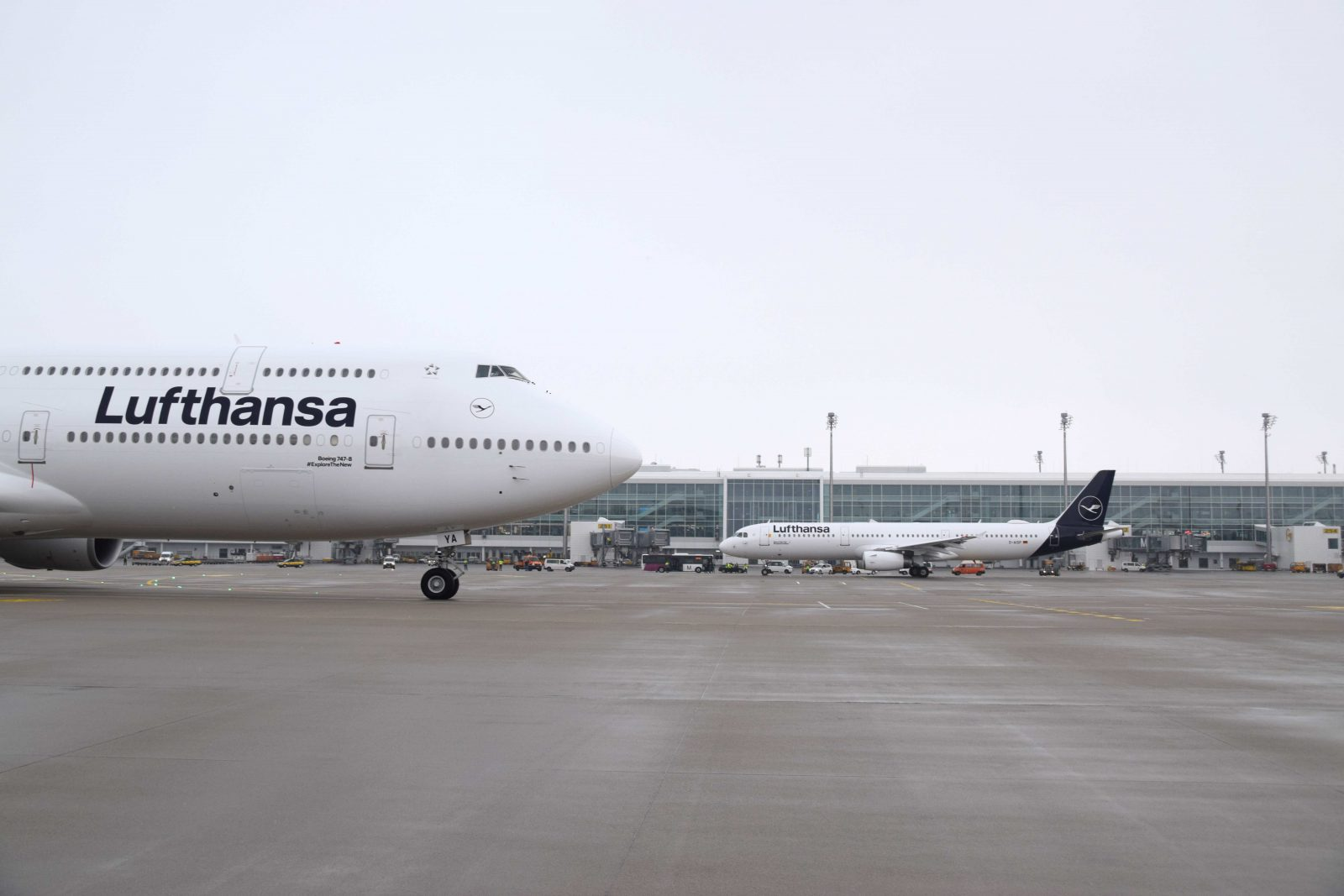 Lufthansa Will Be Forced To Cancel 800 Flights On Tuesday: 90,000 Passengers Will Be Impacted