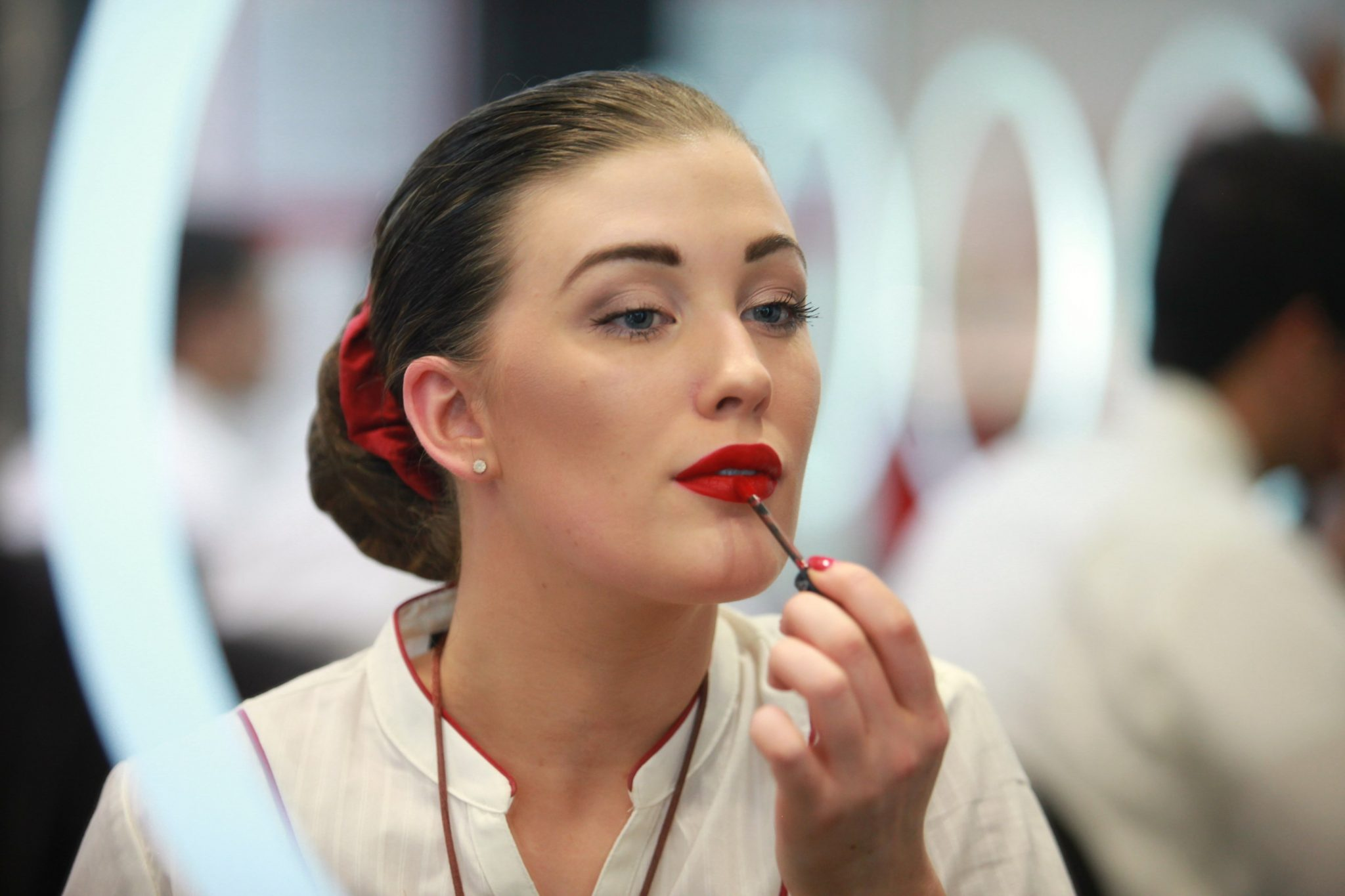 "CRINGE: Emirates Releases Makeup Tutorials Calling its (Female) Cabin Crew ""Sky Angels"""