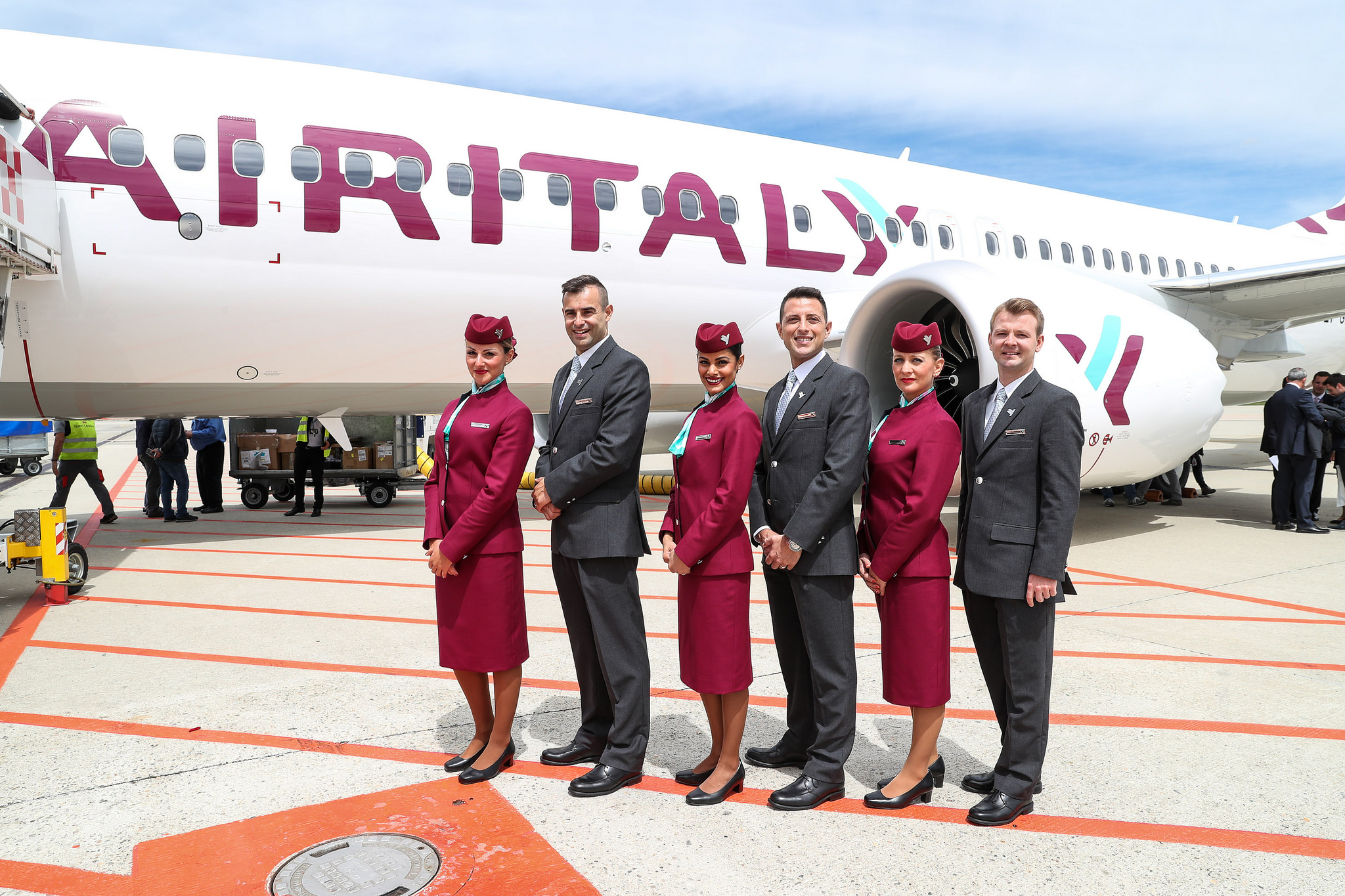 Air Italy's New Uniform Just Cements the Concern its Qatar Airways With a Different Name