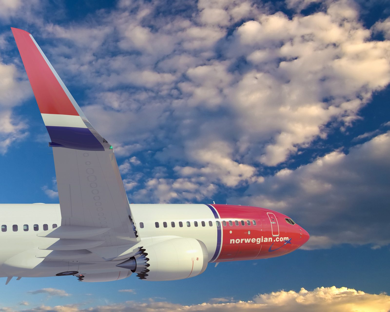 Chief Executive of Low-Cost Airline Norwegian Throws His Weight Behind Boeing's 737 MAX Fix