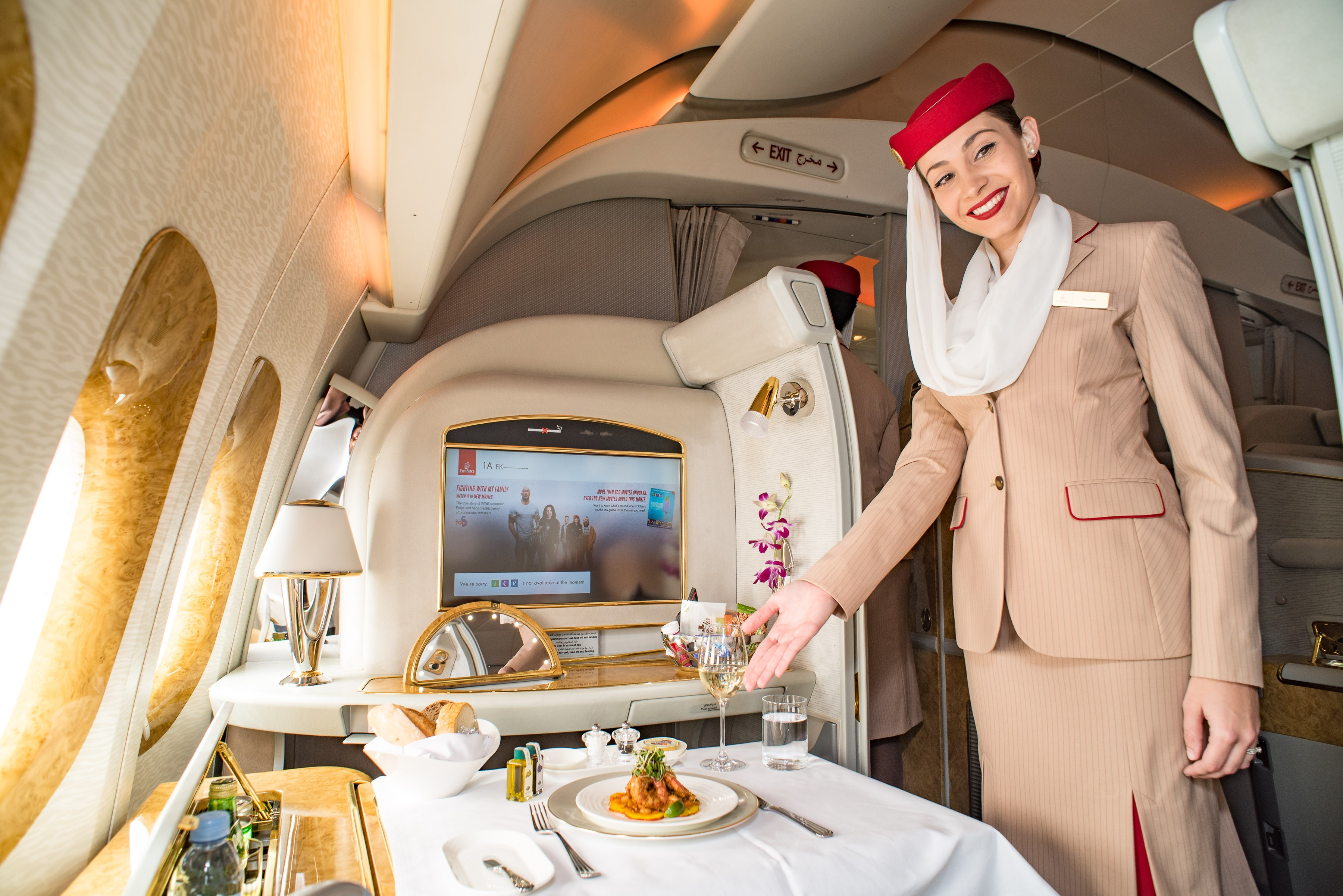 Emirates Passenger Self-Upgrades to First Class, Assaults and Sexually Harasses Flight Attendant