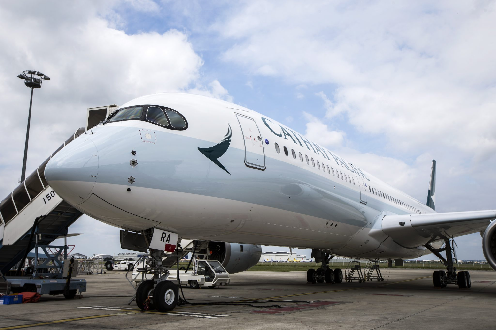 Cathay Pacific Reports Growth in Passenger Numbers Despite Protests But Future Looks Less Certain