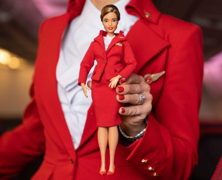 Virgin Atlantic Launches Pilot, Engineer and Cabin Crew Dolls in Collaboration with Barbie