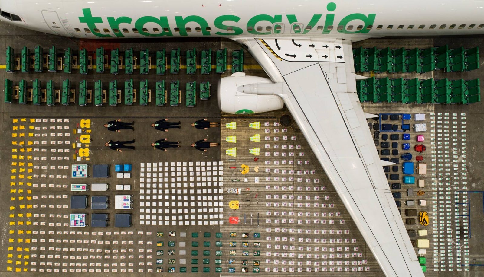 VIDEO: European Low-Cost Airline Transavia Smashes the Tetris Challenge