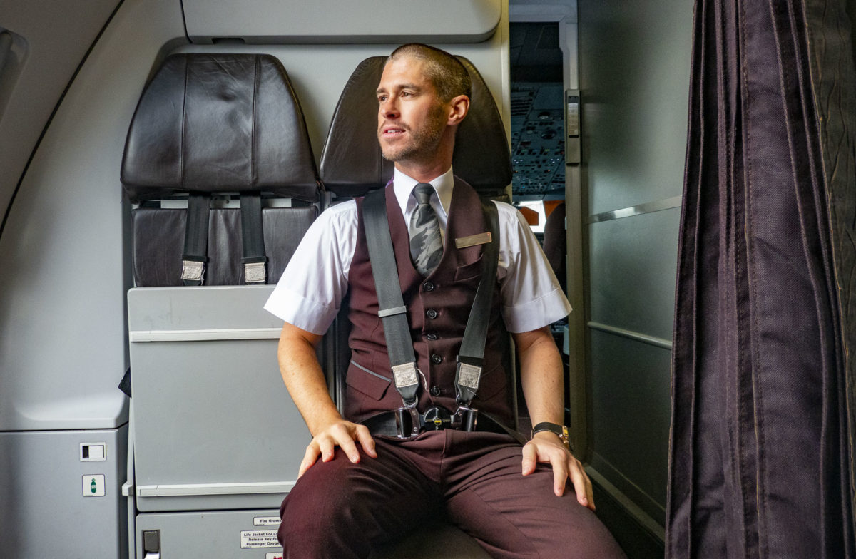 What Does it Take to Become a Purser or Virgin Atlantic? Meet Scott Coley, Who Reveals All...
